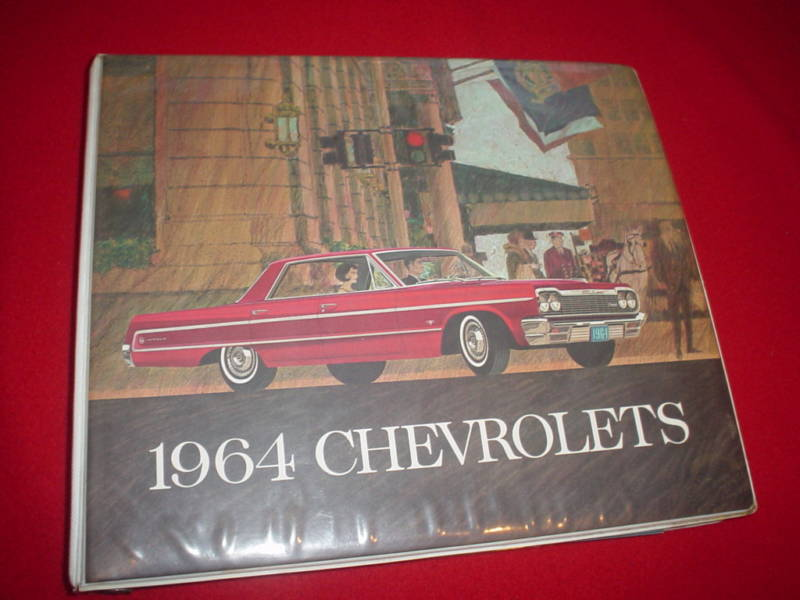 1964 Chevrolet Dealer Album