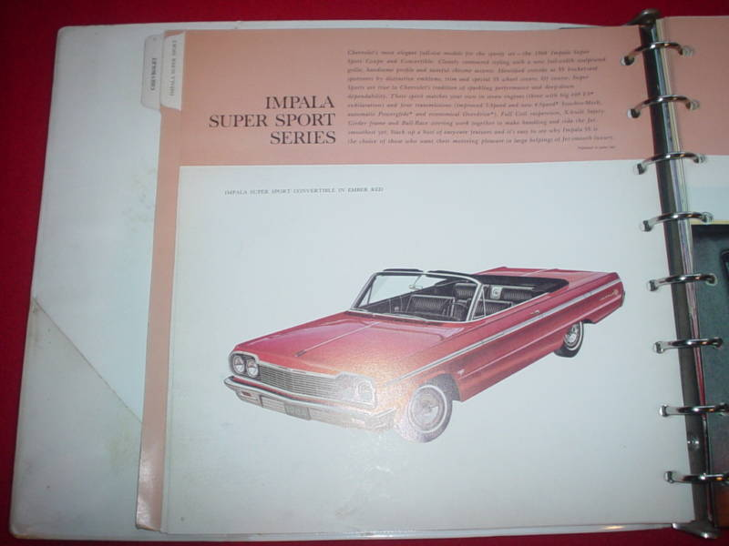 1964 Impala Convertible in the Dealer Album