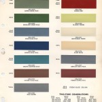 1958-1964 Chevrolet Paint Colors