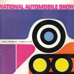 1960 National Automobile Show Program Brochure