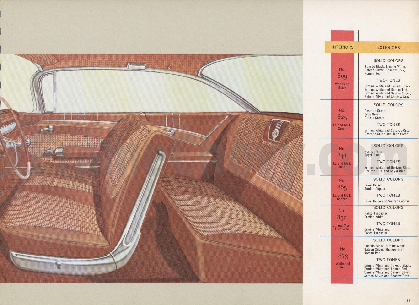 1960 Dealer Album Page 13