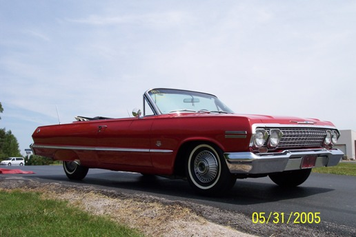 1963 Chevy Belair For Sale 1963 impala 409 conv red 25 1963 impala 409 conv red 27