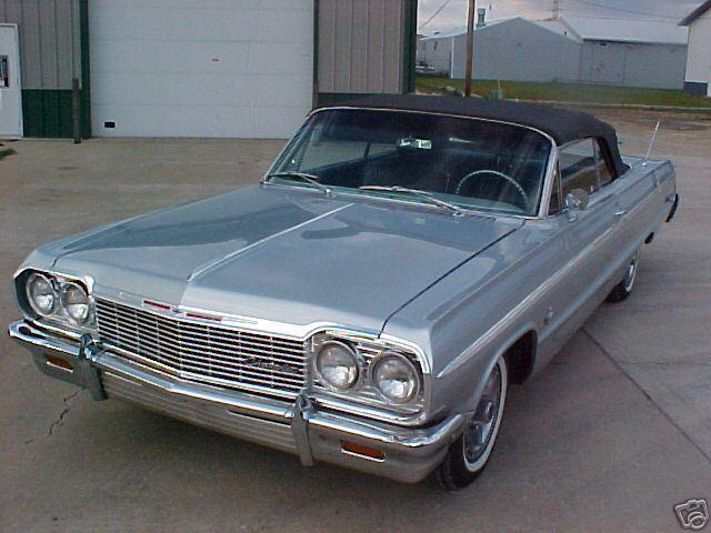 1964 Impala Ss Convertible Silver 2 Xframechevy Com