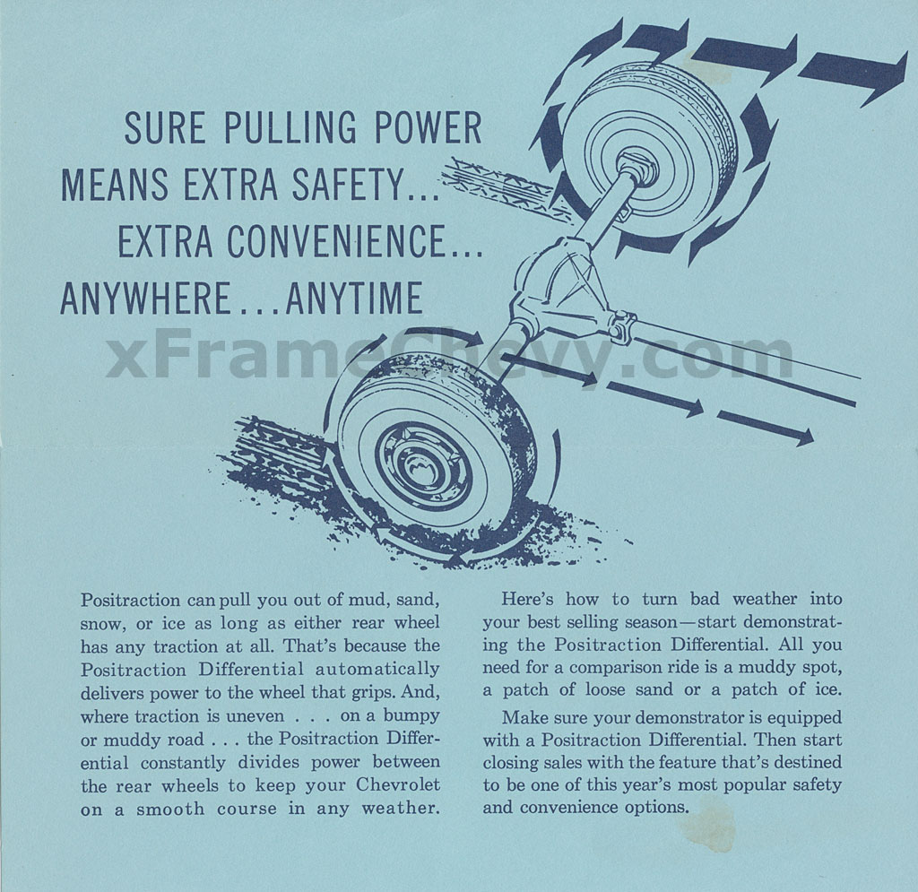 1959 Positraction Brochure - Page 3