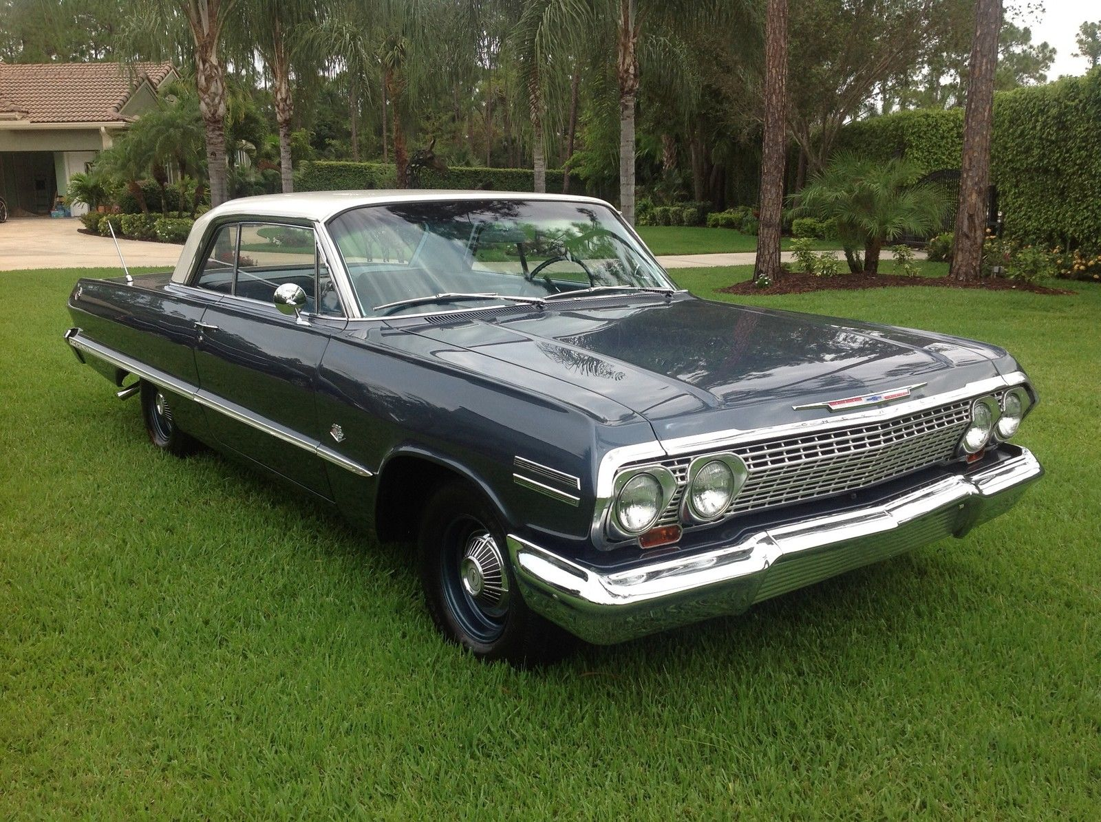 1963 Impala Sport Coupe - 409 blue 02