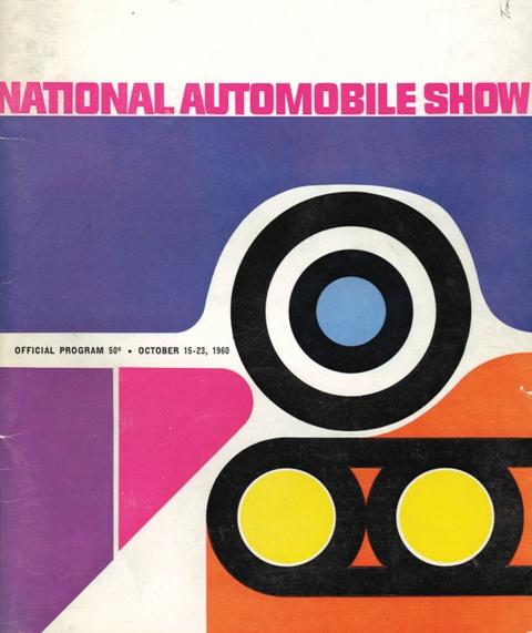 1960 National Automobile Show Program Brochure