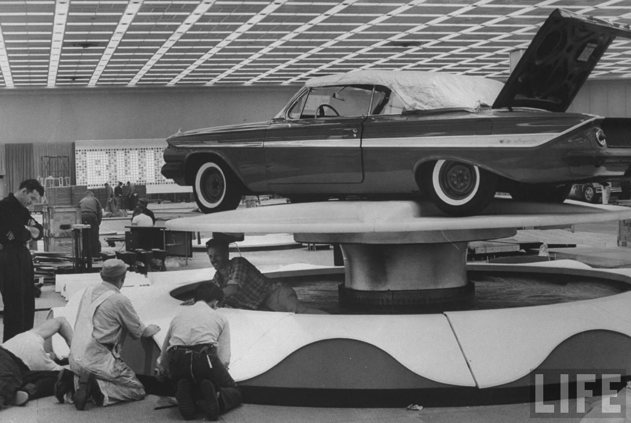1961 Impala at National Automobile Show
