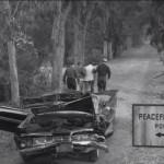 Twilight Zone - 1959 Impala Convertible crashed