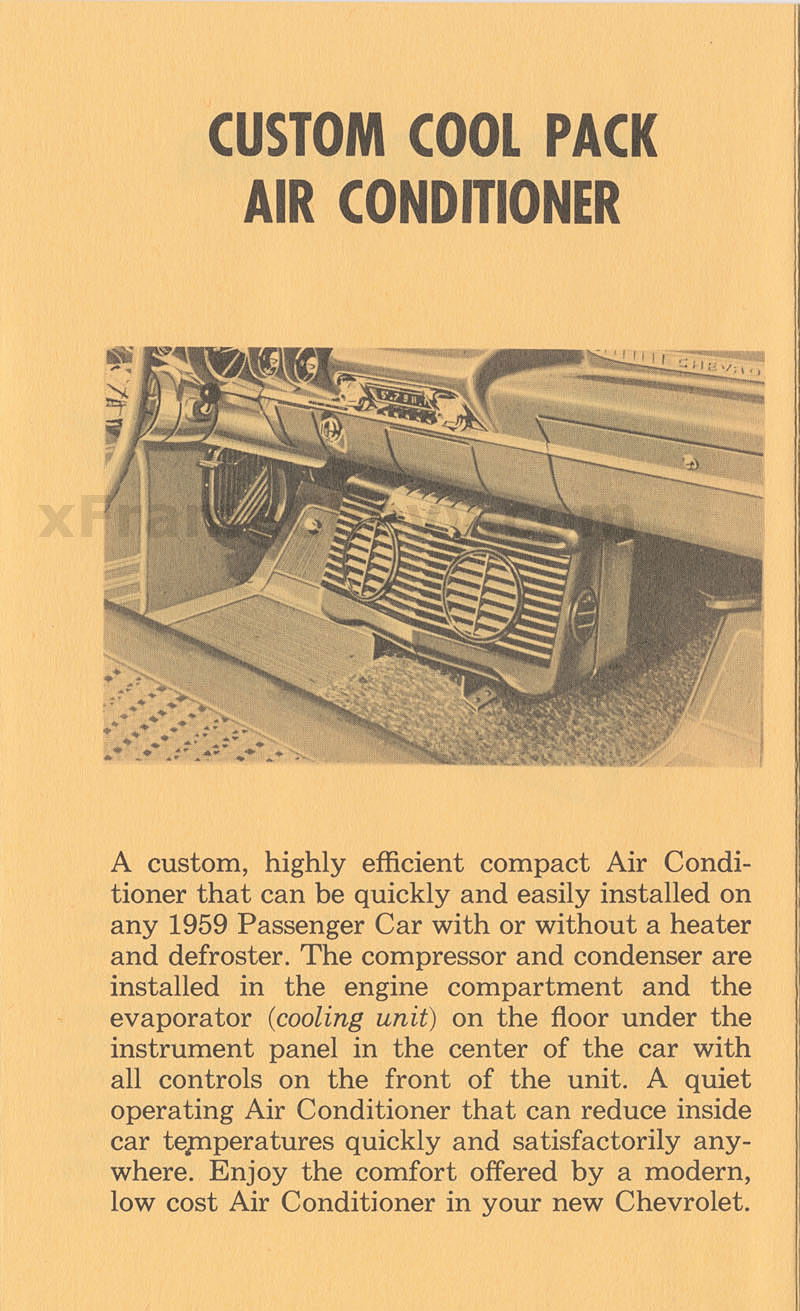 Custom Cool Pack Air Conditioner