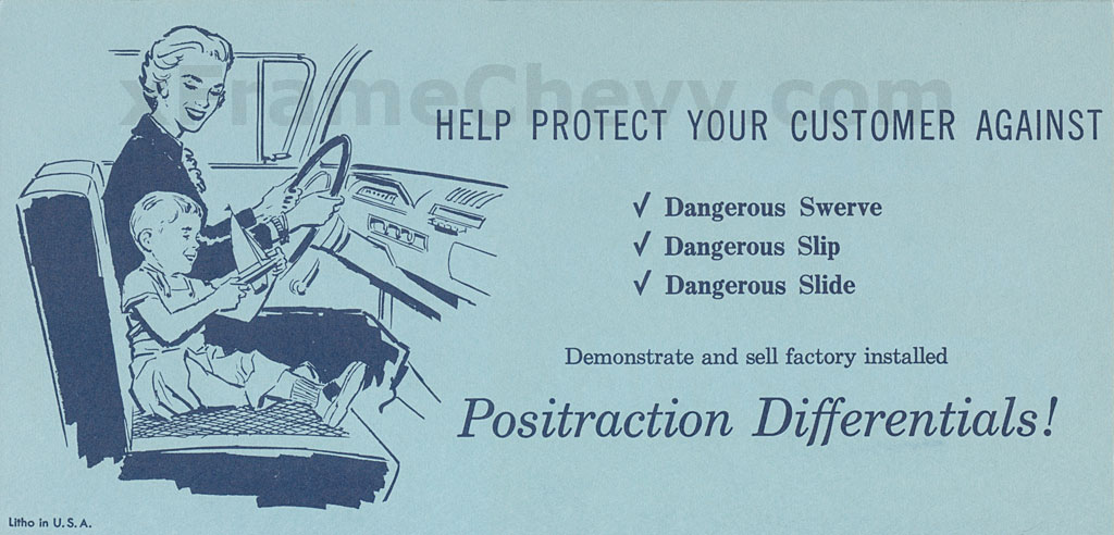 1959 Positraction Brochure - Page 2